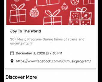 SCF Music Program android app